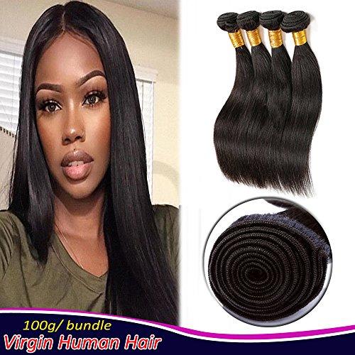 12 Inch Straight Hair Weaves Human Hair Sew In Hair 3 Bundles