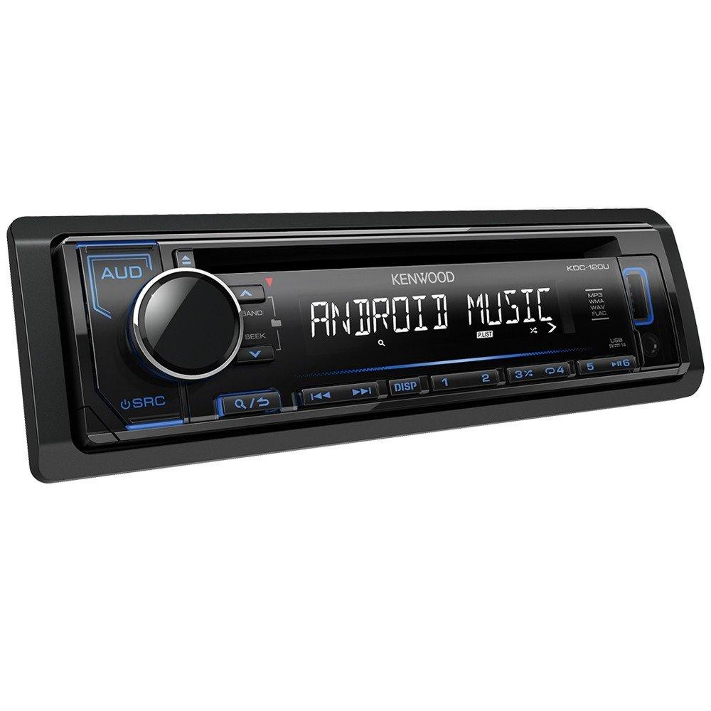 Kenwood KDC-120UG CD-Receiver mit frontseitigem USB/Aux-Eingang schwarz KDC120UG