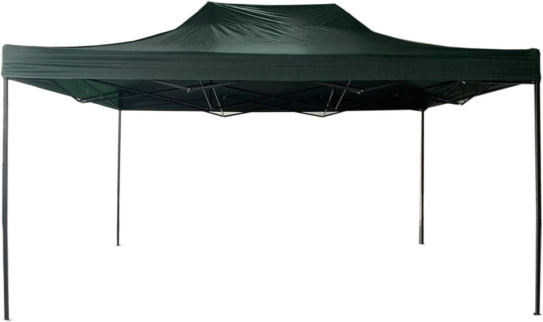 Rebecca Mobili Pabellón Cenador Plegable Verde Metal Poliéster Bolsa de Transporte Camping Festival Terraza - 3, 1x4, 5x3 m (A x AN x FON) - Art. RE6310: Amazon.es: Jardín