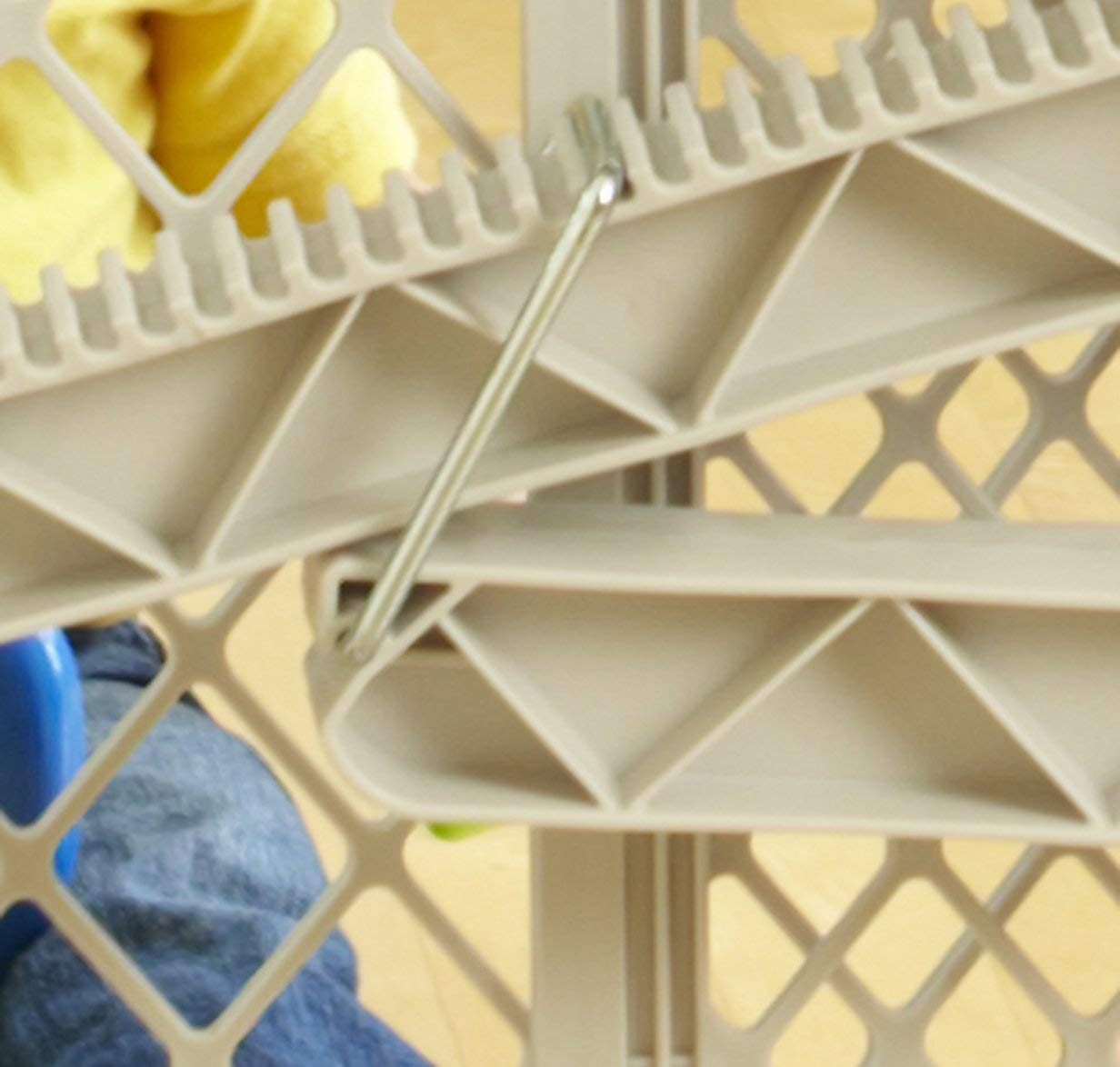North States Top Notch Plastic Pressure Mounted Baby Pet Safety Gate (3 Pack) by North States (Image #5)