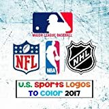 us sports logos to color 2017 all the major us sports team logos mlb - Nfl Coloring Books