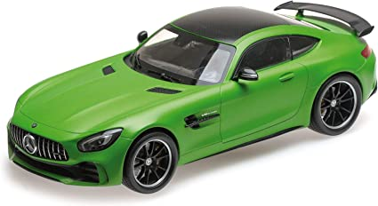 Diecast Car Model Almost Real Mercedes-AMG GT R 2017 1:18 Black//Red GIFT!!!