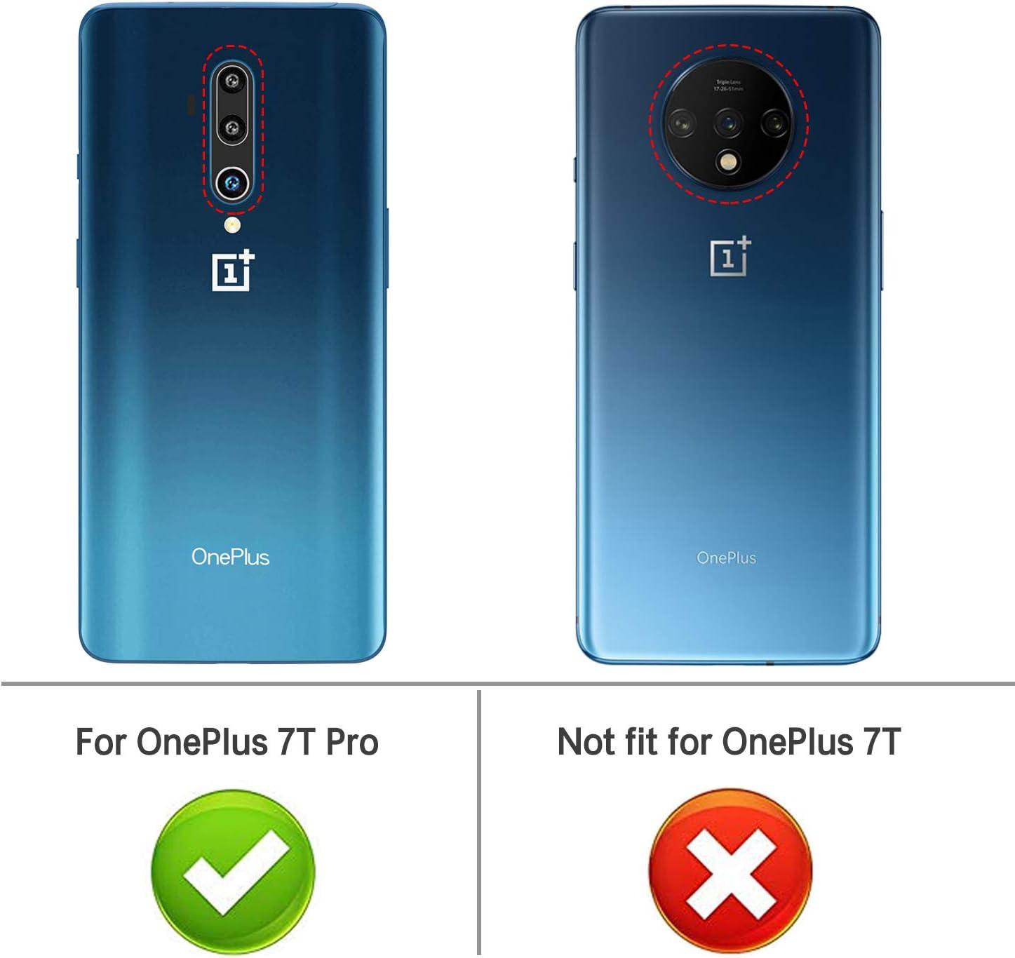 iBetter Diseño para Oneplus 7T Pro Funda, Fina de Silicona ...