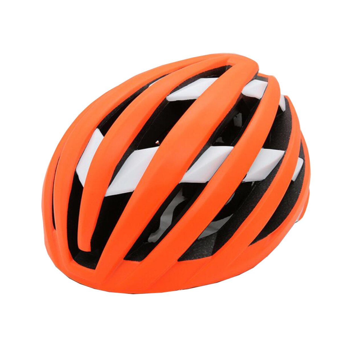 Erwachsene Helm Cross Country Bergstraße Reithelm Integrierte Formen Reiten Liefert Schutzausrüstung,Orange