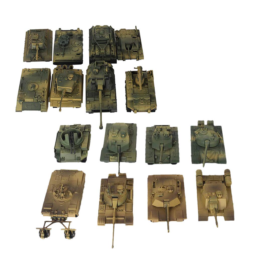 Amazon com: B Blesiya 16pcs DIY 4D Heavy Armed Forces Tank