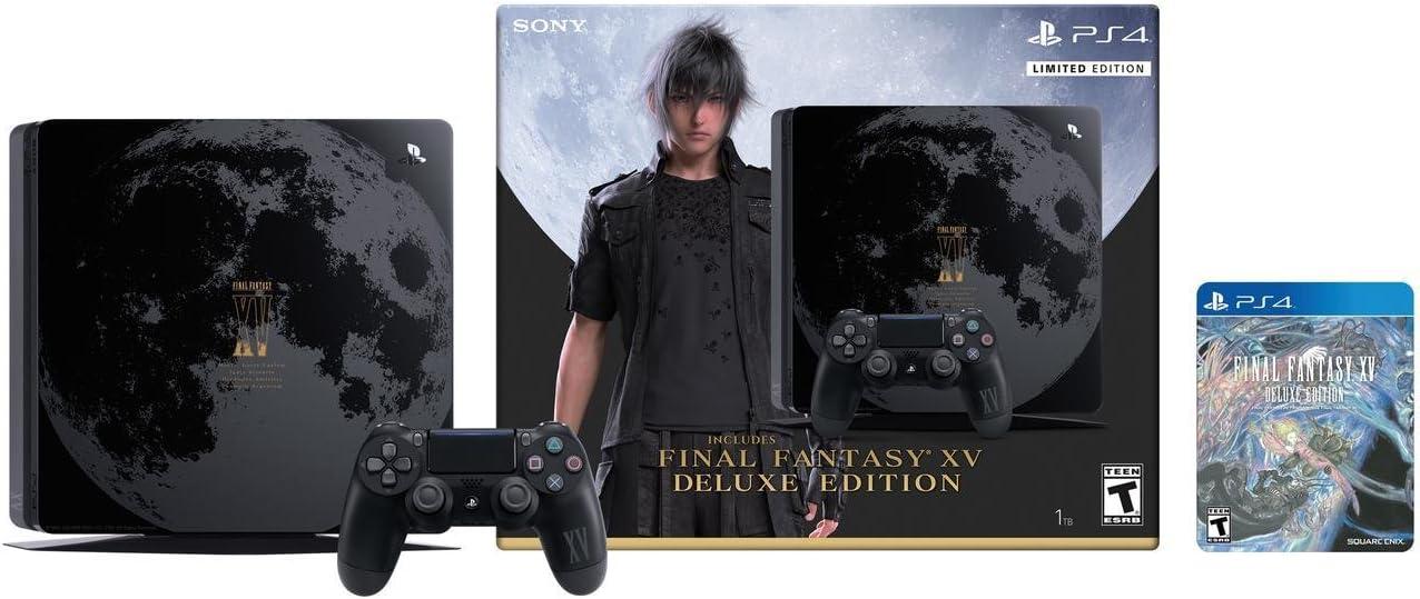 Amazon com: PlayStation 4 1TB Final Fantasy XV ‑ limited