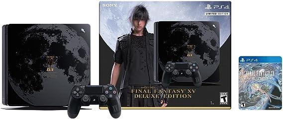 PlayStation 4 Slim (PS4) 1TB - Consola + Final Fantasy XV Edición ...