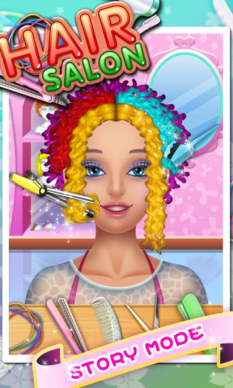 Amazon.com: Hair Salon - Kids Games: Appstore for Android
