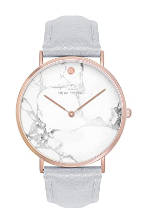 Reloj mujer RELOJ DE pulsera trenduhr mármol Marble Colores rose gold Rose Gold + Varios Colores