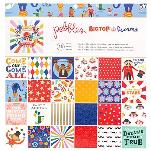 Pebbles 734118 Paper Pad, Multi ()
