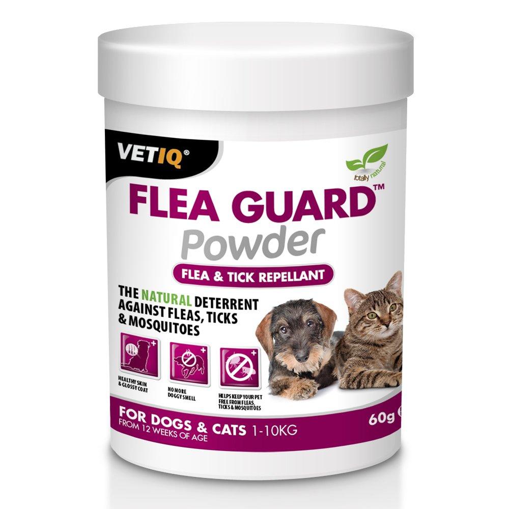 VetIQ - Polvo de protección contra pulgas (60 g): Amazon.es: Productos para mascotas