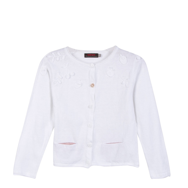 Catimini Girl's Cardi Tri Uni Cardigan CL18115
