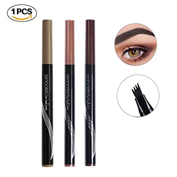 Lower Price with 1 Pcs Charming Eye Winged Eyeliner Seal Wing Waterproof Mascara Cream Dye Eyebrow Pen Makeup Tool Long Lasting Color Natural Eyebrow Enhancers
