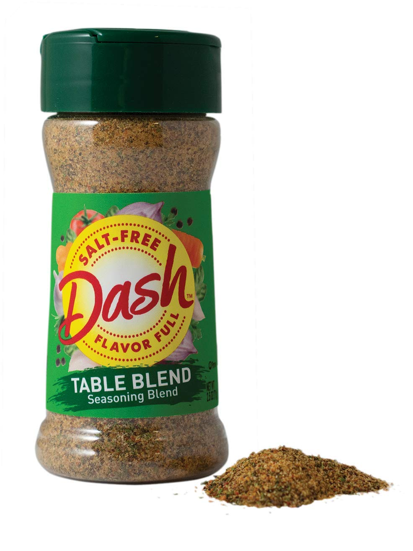 Mrs. Dash Seasoning Blend, Table Blend, Salt Free, 2.5 Ounce (Pack of 12)