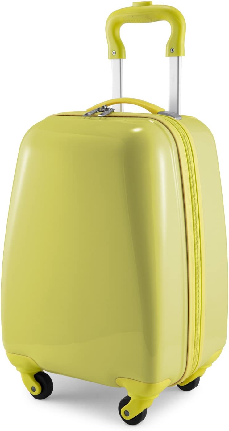 Hauptstadtkoffer Kids Luggage Children's Luggage Suitcase Hard-Side Glossy Multicoloured Yellow