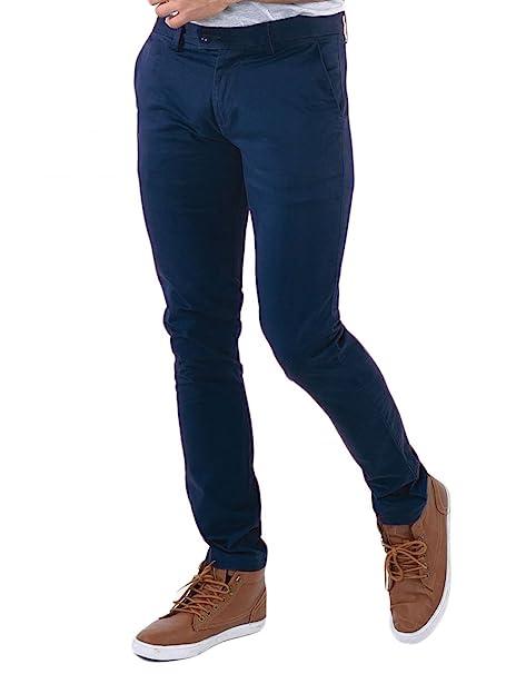 Kebello Pantalon Chino Homme Marine  Amazon.fr  Vêtements et accessoires 621a35d4a9bf