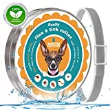 Flea and Tick Collar for Dogs,Hypoallergenic Waterproof Pest control Collar - Safe and Effective Flea/Tick Prevention collar with Natural Essential Oil -Fully Adjustable one Size Fits ALL