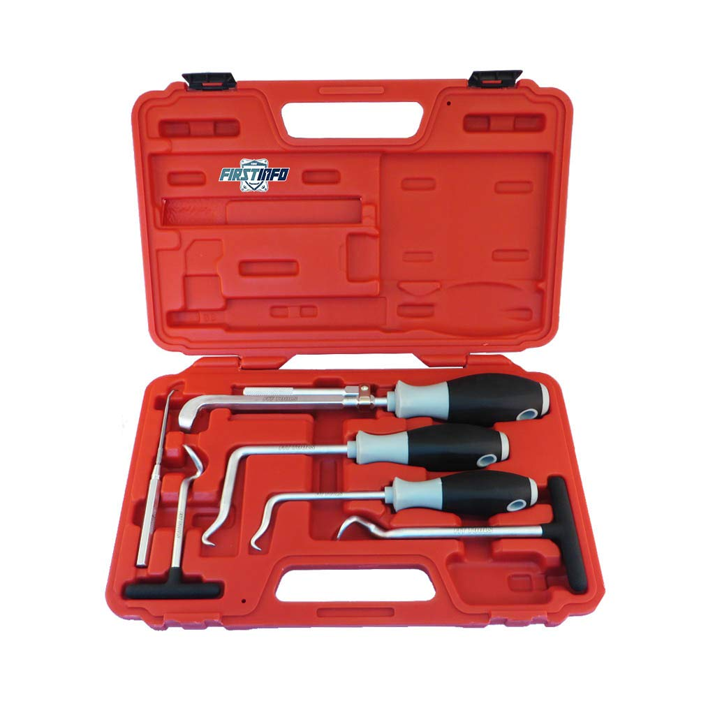 FIRSTINFO Camshaft and Oil Seal / O-ring Non Slip Screwdriver Puller Remover Kit FIRSTINFO TOOLS Co. Ltd. F3282C