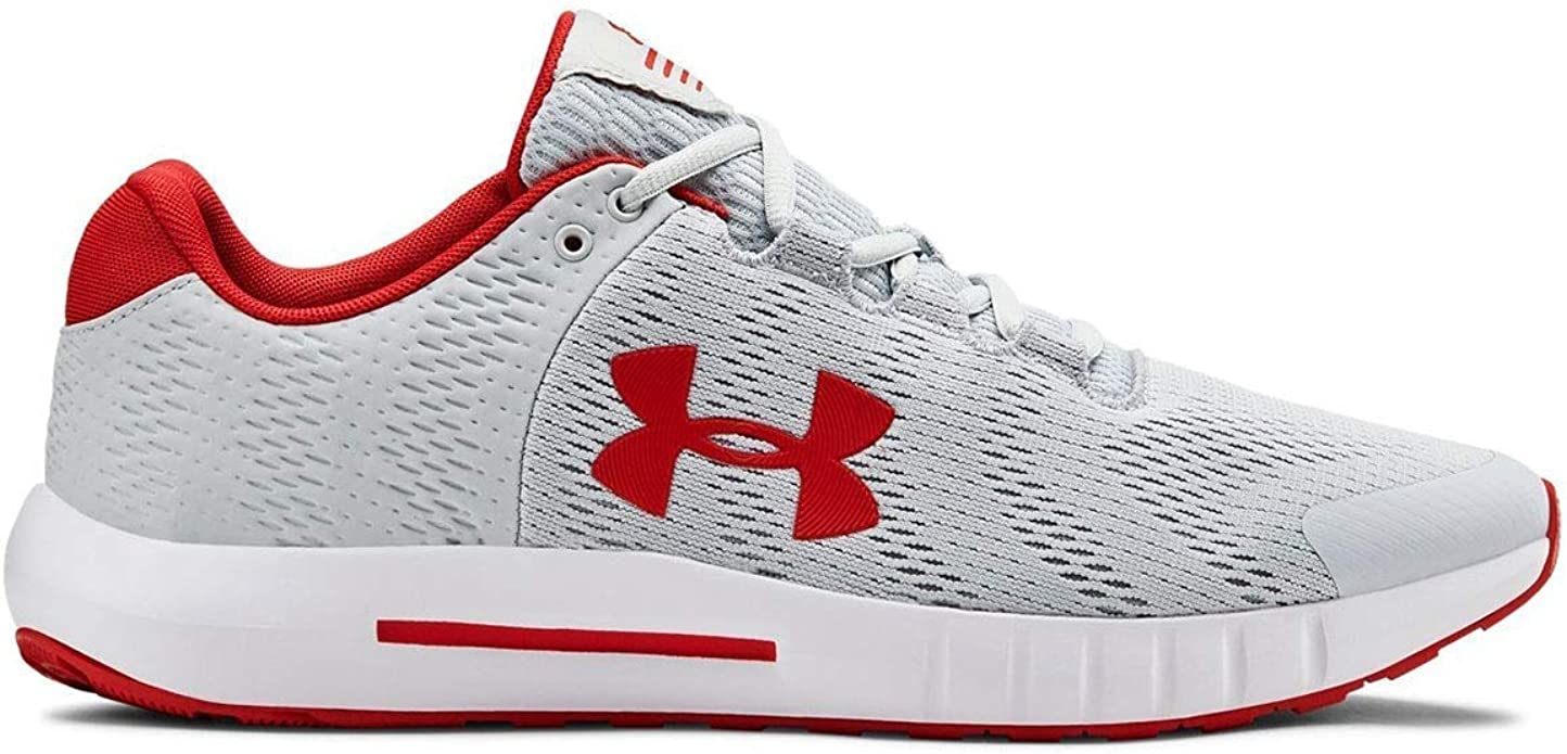 Under Armour Micro G Pursuit Sneakers Herren Grau/Rot