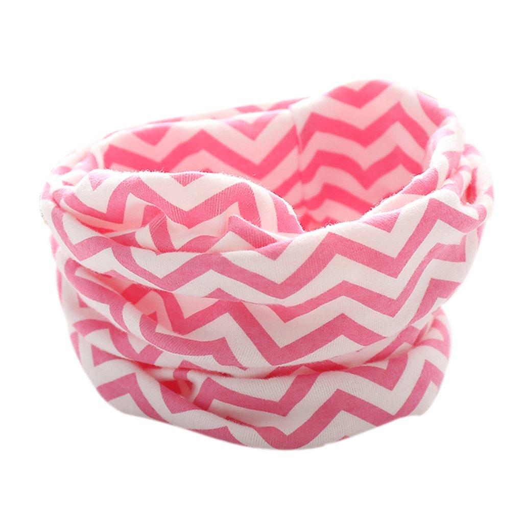 JAGENIE Fashion Cotton Baby Scarf Modello cartoon Sciarpe O Collo Collar Sciarpa per bambini Blue5
