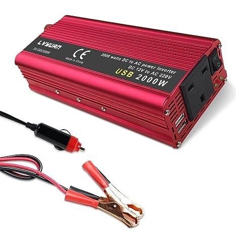 luyuanipower 850 W/2000 W potencia máxima inversor DC 12 V a AC ...