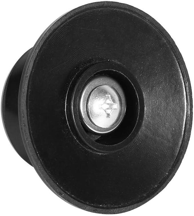 negro Perilla de la tapa de la olla-2 piezas Reemplazo de la tapa de la olla de la cocina Perilla resistente a altas temperaturas adecuada para la tapa Agujero de montaje de 6 mm