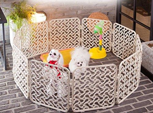 Alpha Dog Series Magic Fence (10 Modular Pcs) - 10 Puppy Playpen