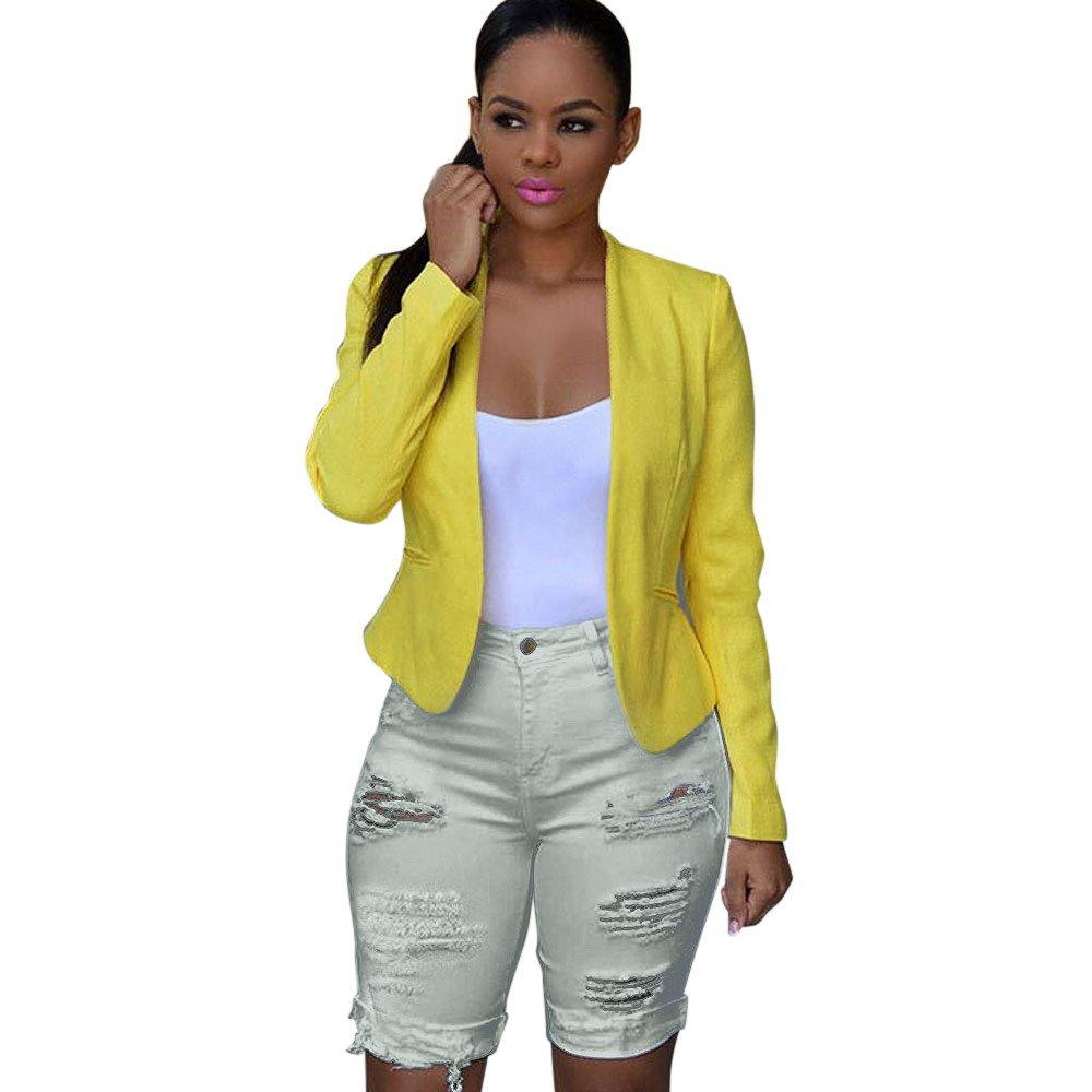 iLUGU Women Casual Denim Destroyed Bermuda Shorts Jeans tactical pants