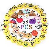 Best Emoji Backpacks For Kids - Emoji Keychain Decorations Emoji Party Supplies Favors Kids Review