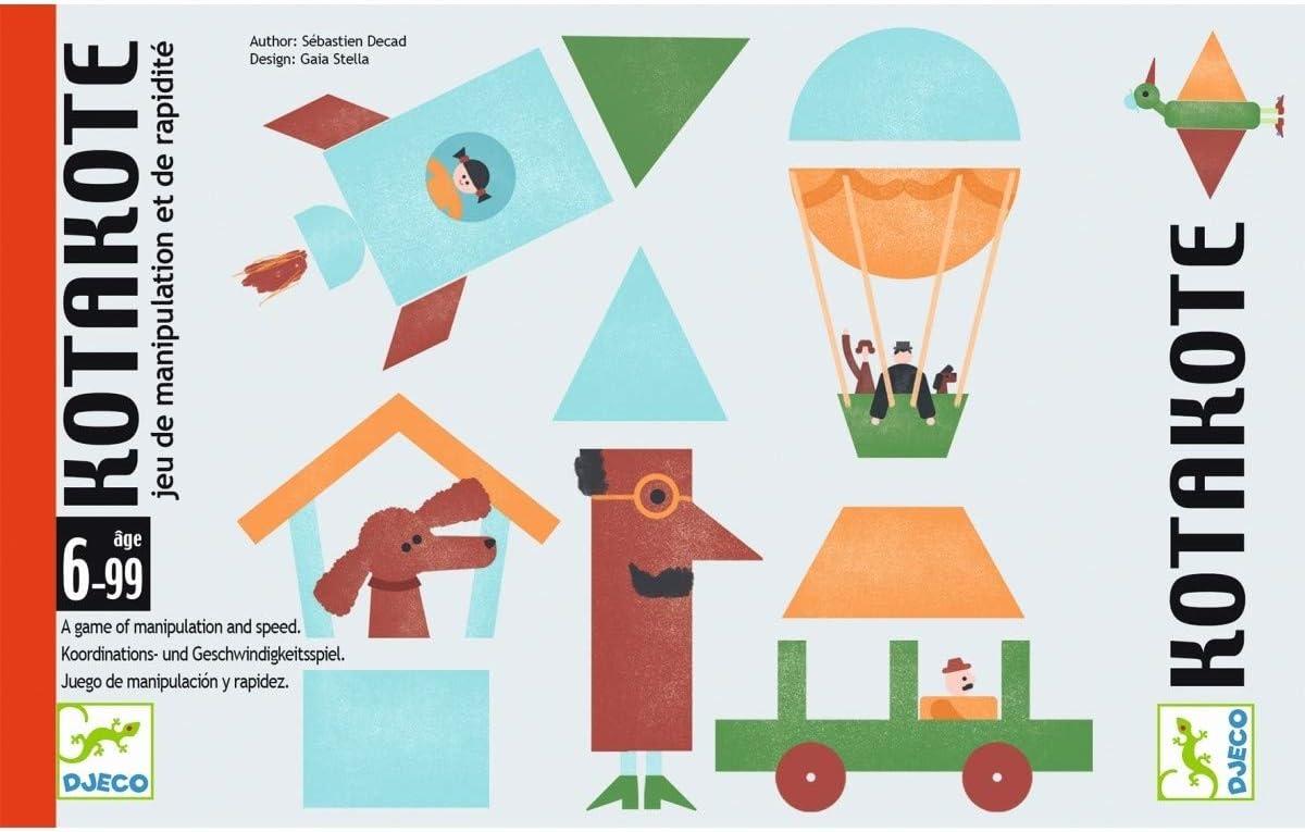 Cartas Kotakote DJECO: Amazon.es: Juguetes y juegos