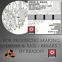 Drum 'n Bass Massive - (Propellerhead Reason Refill) (4100 DrRex LOOPS & 3100 Wav samples) - For producers using Reason 5 /6 /6.5/ 7/ 8