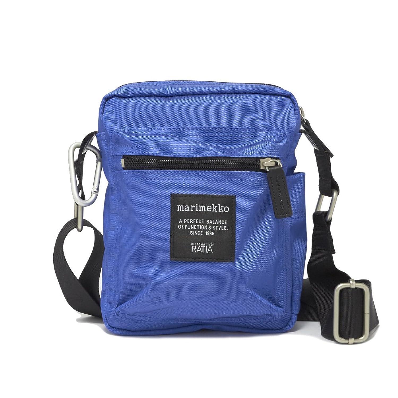 (マリメッコ) Marimekko ショルダーバッグ キャッシュ&キャリー CASH & CARRY BAG レディース 005 BRIGHT BLUE [並行輸入品] B07D4DV263