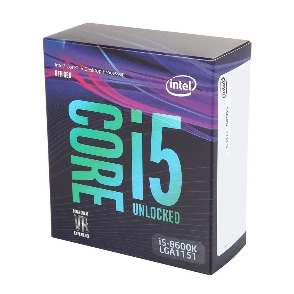 Intel Core i5-8600K 6 Cores up to 4.3 GHz unlocked LGA 1151