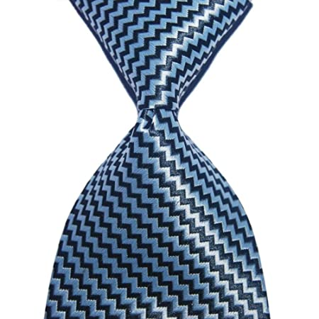 GLMXJJ Wave Striped Tie Gift For Men Corbata De Seda 10 Cm Ancho ...