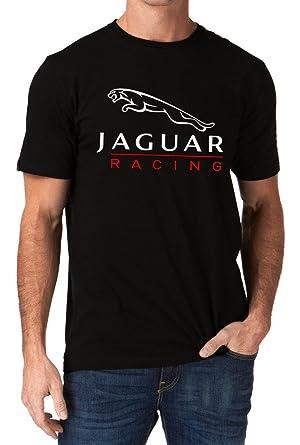 Amazon.com: Jaguar Car Racing nd Logo Men's T-Shirt: Clothing