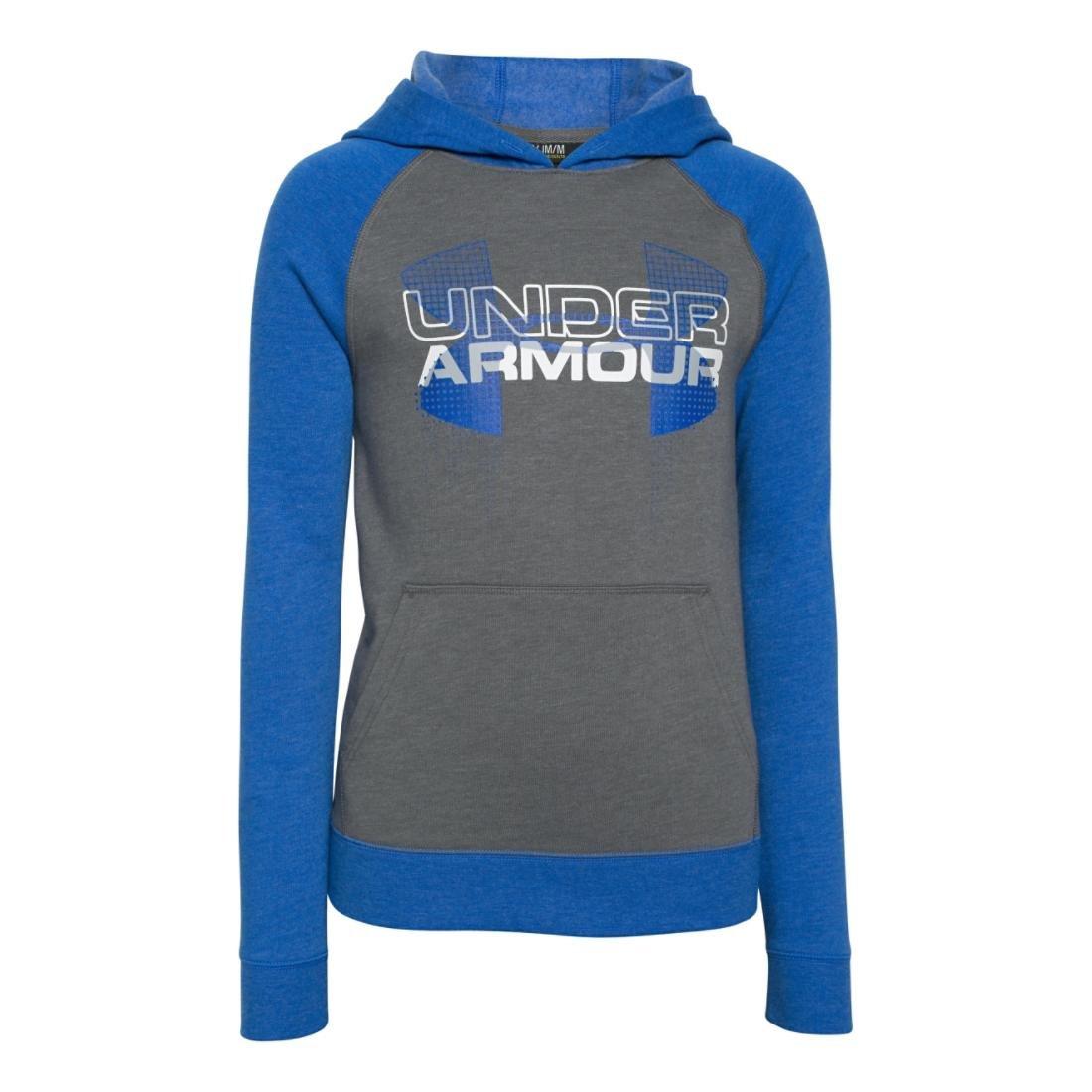 Under Armour Kids Boys Commuter Tri-Blend Hoodie Big Under Armour Apparel Boys 1271873-041