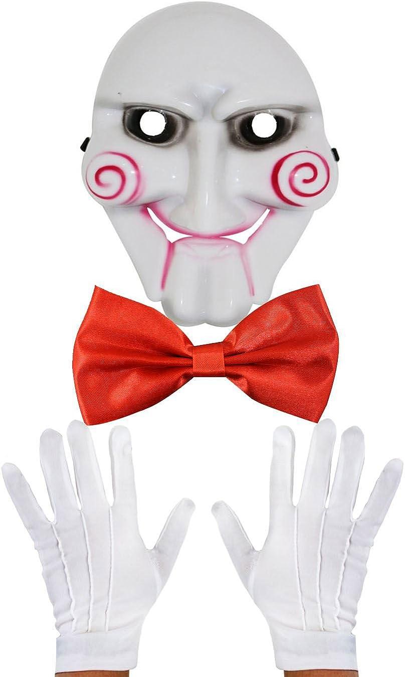 Billy The diseño de Noche de Brujas Fancy diseño de marioneta de película e Instrucciones para Hacer Vestidos Lote de Accesorios