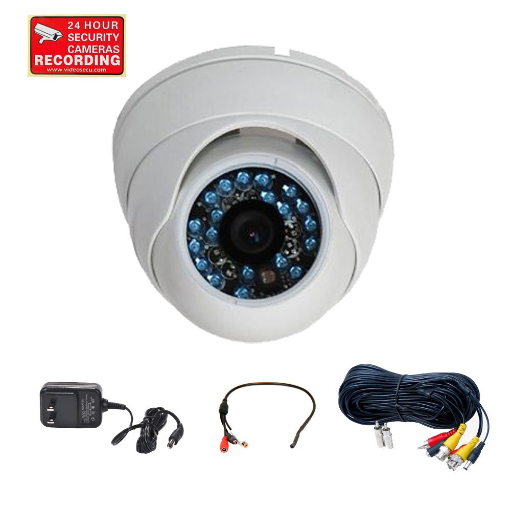 Amazon.com : VideoSecu CCTV Built-in SONY CCD Surveillance Camera ...