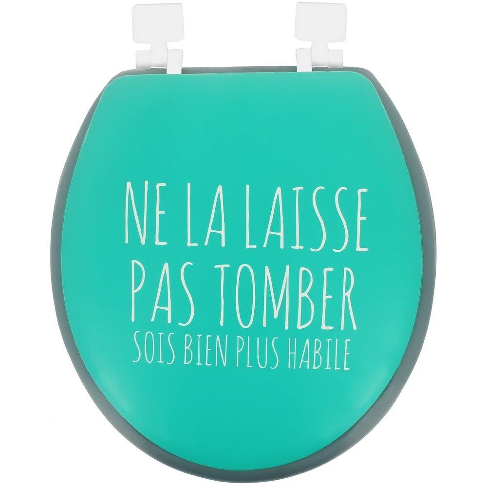 Promobo -Abattant De Toilettes WC Mousse Design Humour Expression ...