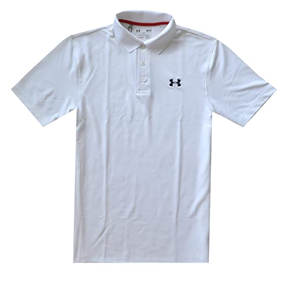 Under Armour Men's UA Golf Performance Logo Polo T-shirt petit Carbon Heather (090) u4pV17