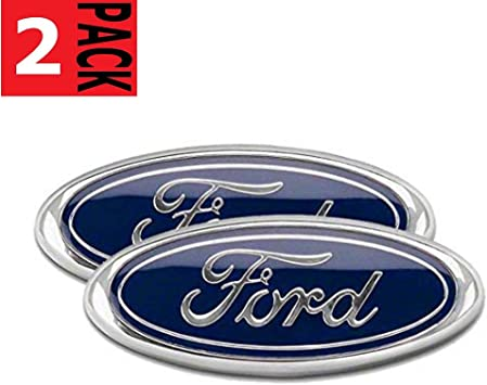 9INCH EMBLEM Auto Logo 2004-2014 FORD F-150 BLUE OVAL FRONT GRILLE REAR TAILGATE