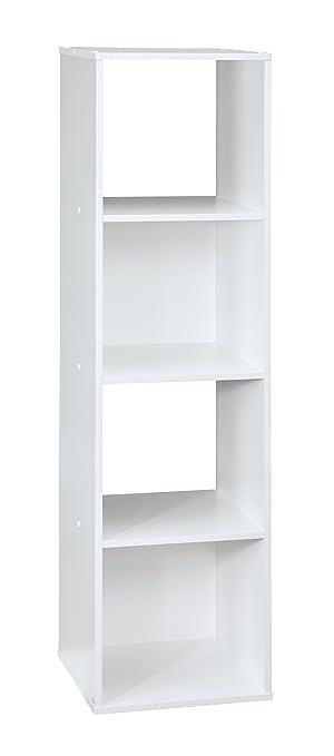 ClosetMaid (1029) Cubeicals Organizer, 4 Cube   White