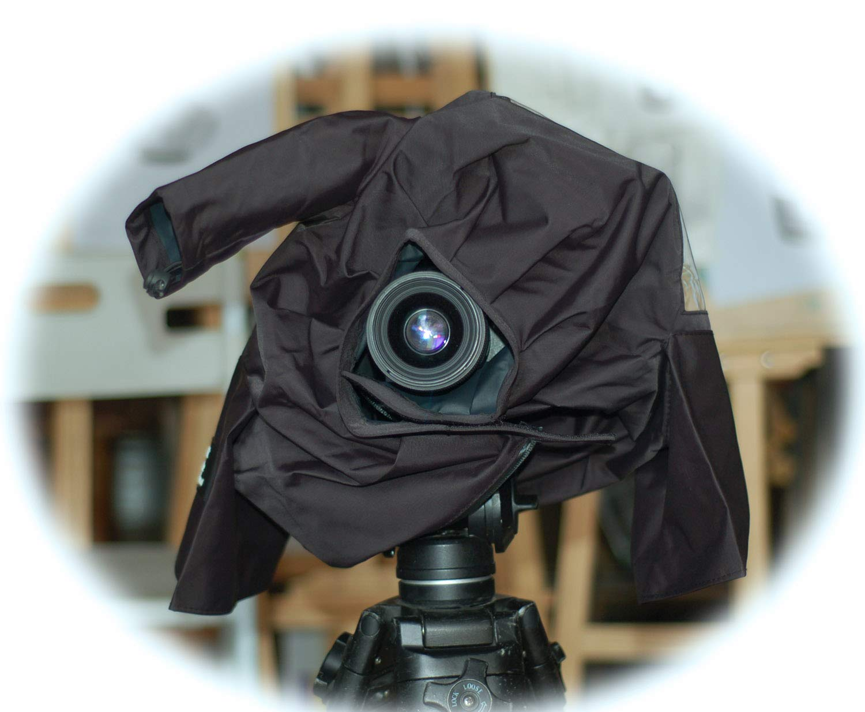 Rain Cover for Sony PXW-FS5 PXW-FS7 PXW-FS5M2 Panasonic AU-EVA1 HC-X1000 Canon XF705 XF315 xf305 JVC GY-HM660 GY-HM610 HM650 HM600 Camcorder by FOREST BRAVE (Image #2)