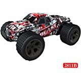 OVERMAL High Speed RC Racing Car 4WD Remote Control Truck Off-Road Buggy Toys Trucks 1:20 2WD (21 x14 x10cm, 003#)