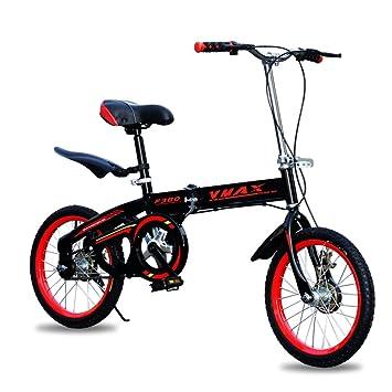 XQ Bicicleta Plegable Ultraligera Portátil De 20 Pulgadas Bicicleta Individual De Velocidad Única