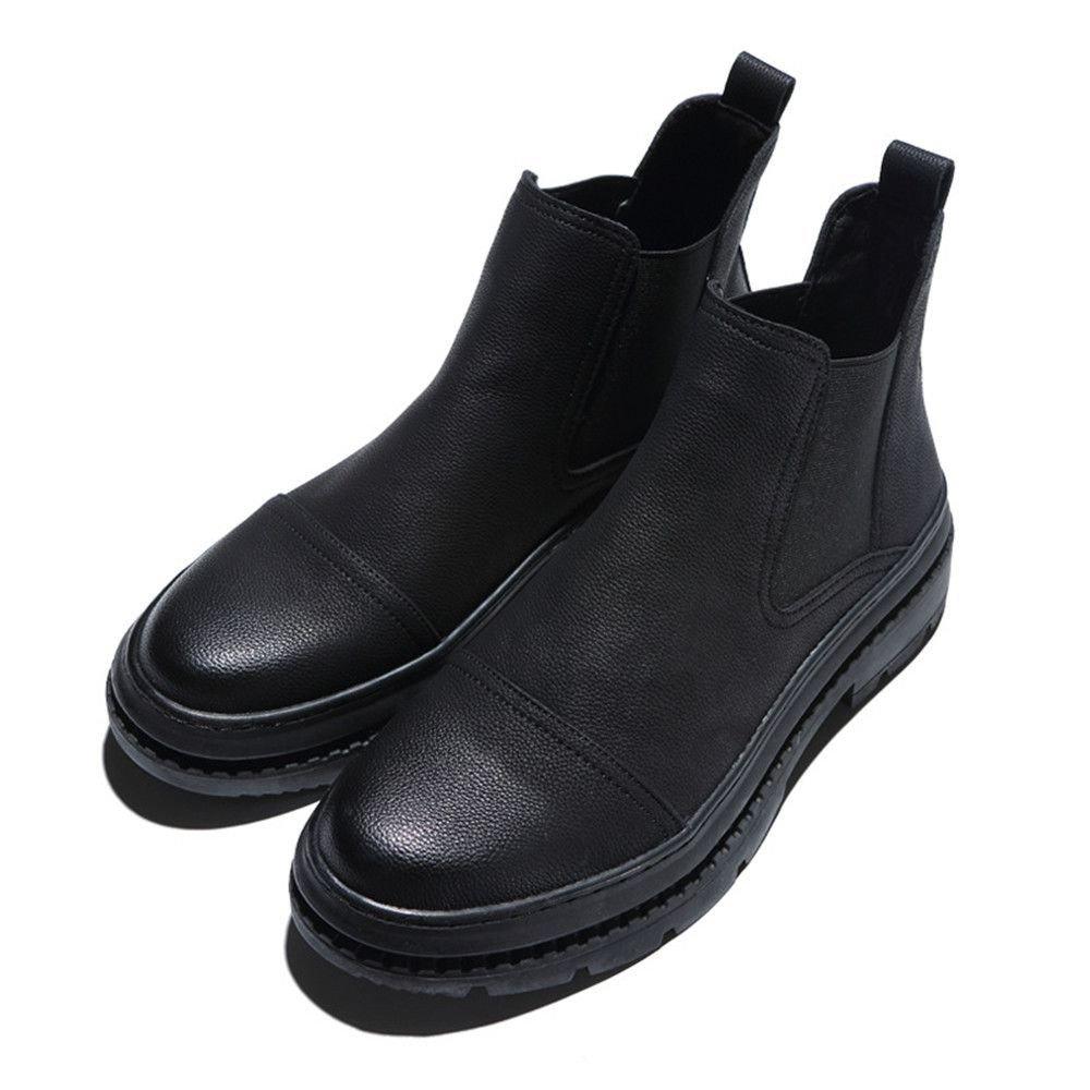Männer - - - freizeit - ärmel männer stiefeln freizeit wind chelsea - stiefel,schwarz,42 69b3b1