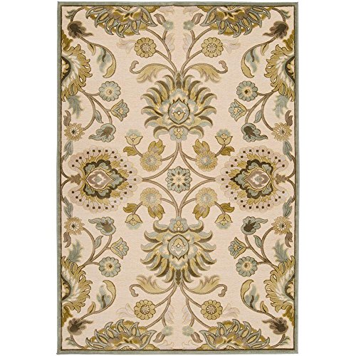 Artistic Weavers Lauren Ivory Viscose and Chenille 8 ft. 8 in. x 12 ft. Area Rug from Artistic Weavers