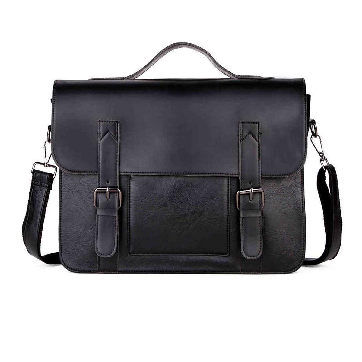Lianai11 Laptoptasche Geschäft Herren Tasche Double Decor PU Herren Aktentasche Geschäft Casual Aktentasche