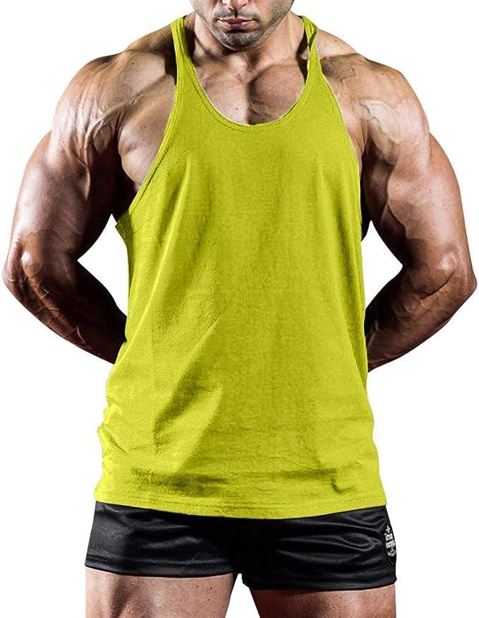 Camisetas Deportivas Hombre, Camiseta con Capucha de Tirantes Deportes para Hombre, Tops Camisa sin Mangas de Verano Fitness, Mens Tank Tops Sleeveless Gym Shirts, Sauna Chaleco, Trajes de sudoración: Amazon.es: Ropa y