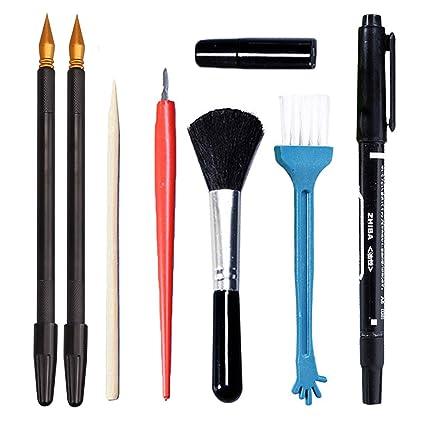 Amazon.com: Migavan - Juego de 4 herramientas de pintura ...